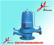 三洋牌SPG屏蔽式管道离心泵