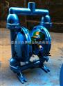 供应QBY-50不锈钢隔膜泵 微型隔膜泵 不锈钢气动隔膜泵