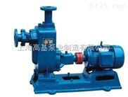 ZW大口徑流量大自吸式無堵塞排污泵型號