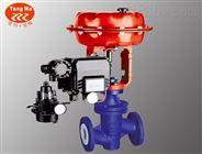 ZJHPF46气动衬氟调节阀,衬氟气动调节阀,气动衬氟单座调节阀