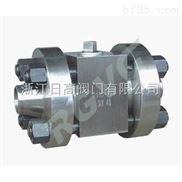 Q61N焊接式高压球阀-日高铸石耐磨球阀