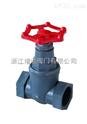 J11F塑料螺纹截止阀(RPP,UPVC,CPVC,PVDF)