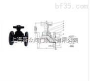 EG41W(无衬里)、(衬胶)堰式隔膜阀