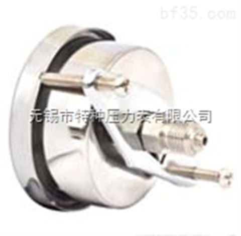 轴向卡箍耐震压力表YN-50U/YN60U/YN75U/YN100U/YN150U