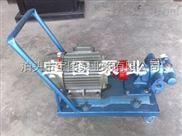 小车齿轮泵应用于不同性质、不同粘度的介质输送