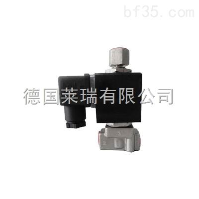 进口小口径二位三通电磁阀德国lr品牌中国总代理商