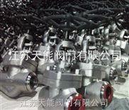 不锈钢焊接截止阀J61W-800LB