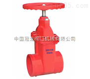 沟槽式弹性座闸阀 中国冠龙阀门机械有限公司