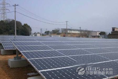 日本蒲田百万瓦级光伏电站竣工投产