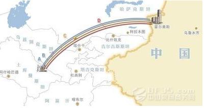 中亚天然气管道c线预计6月通气