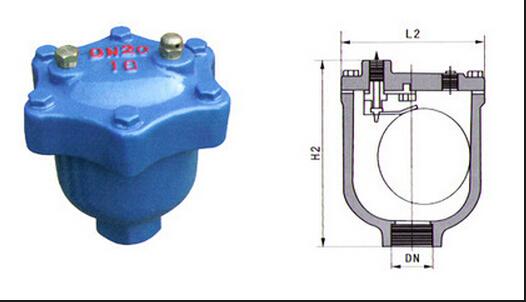 该排气阀主要排除管内中含2vol的溶解气体,使管道供热,制冷提高效果.图片